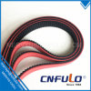 Coating Timing Belt with Red, Green, Black, White, Grey, Blue