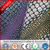 New Design Crocodile Pattern Hot Sale Factroy Wholesale PVC Synthetic Leather