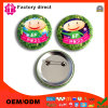 Promotion Custom Metal Company Logo Pin Round Name Button Badge
