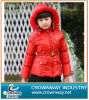 Red Warm Down Jacket for Teen Girl