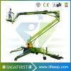 2016 New Designed 12m 14m Towable Trailed Knuckle Boom Lift