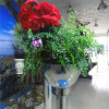 Meeting Room Conference Hall Flower Pot Polish Stainless Steel Garden Pot