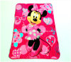 Custom Printed Coral Fleece Blanket with Design