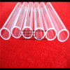 High Fused Clear Quartz Glass Pipe Tube