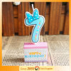 Wholesale Customize Party White Wax Cartoon Birthday Candle