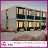 Fireproof Flatpack Container House with Big Windows for Living