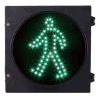 200mm Green Man Static LED Pedestrian Traffic Signal