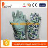 Ddsafety 2017 Kids Gloves with Green Dots on Palm Gardon Glove