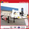32.5 Ton Tri-Axle Flatbed Type Container Tipper Semi Trailer
