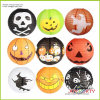 Round Printing Paper Lantern for Halloween Decoration