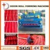 Glazed Tile and R-Panel Cold Roll Forming Machine