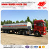 Pitch Transport Tanker Semi Trailer with Insulating Layer