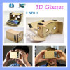 Head Mount Google One Piece Cardboard 3D Glasses Vr Toolkit with Nfc Tag
