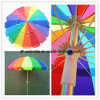 Zhongshan Umbrella Manufacturer, 3 Folding Umbrella for Advertising, Custom Golf Umbrella, Promotional Straight Umbrella, Sun Beach Umbrella Parasol