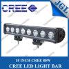 "15"" 80W Single Row off Road LED Light Bar, 4WD Fog LED Driving Lights, Roof Light Bar LED Lighting (5JG-ULG-T680)"