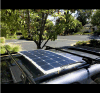 Customized Sunpower Semi Flexible Solar Panel 50W 100W 150W for Camping Car Marine RV Caravan