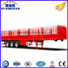 Light Duty Double/Tri Axles Side Wall Stake Semi Trailer