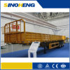 Tri-Axe Side Wall Semi Trailer Used for Bulk Cargo Transport