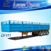3 Axles High Strength Steel Stake Fence Semi Trailer for Sale