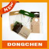 New Style Color Thick Plastic Hang Tag Printing with Hole