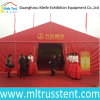 Red PVC Canvas Open Ceremony Reception Tent for Real Estate