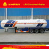 2016 Hot 50000L LPG Gas Semi Trailer for Nigeria Transportation