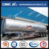 Cimc Huajun 48cbm Aluminium Alloy Oil/Fuel/Gasoline/LPG Tanker