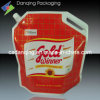 Oil Pouch, Stand up Pouch with Spout and Cap (DQ113)