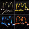 Good Quality Zipper Mobile Phone Stereo Earphone Earbuds