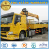 Sinotruk 10 Tons Telescopic Foldable Arm 6*4 Truck Mounted with Crane