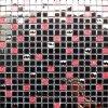 300X300mm Glass Mixed Metalic Mosaic
