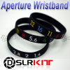 Photographer's Wristband Lens Aperture Ring / Stop Zoom Creep Silicon Latex