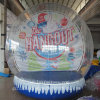 Giant Human Inflatable Christmas Snow Globe with Beautiful Backdrop for Wedding Decoration & Promotion