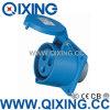 Economic Type Cee Plug for Panel Mounted (QX-1395)