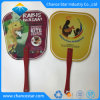 Promotional Gift Plastic Hand Fan with PP Handle