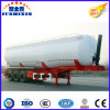 3 Axle Bulk Wheat Grain Flour Trailer for Uganda