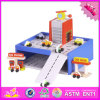 2016 Wholesale Wooden Toy Garage for Boys, New Design Wooden Toy Garage for Boys, Best Wooden Toy Garage for Boys W04b040