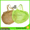 Eco-Bags in Long Handle Natural Organic Cotton Net Shopping Bag