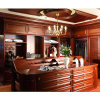 Welbom Red Cherry Wood America Style Wardrobe Design