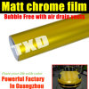 Yellow Matt Chrome Film for Vehicle Wrap