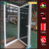 Vinyl Dark Tinted Hurricane Impact Glass Casement Door