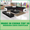 Home Furniture Leisure Genuine Leather Sofa Bed
