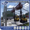 1000 Square Meter Galvanized Q235 Steel Structure Frame Warehouse