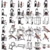 Strength Machine Gym Fitness Equipment Standing Calf