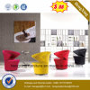 Hotel Lobby Furniture Fabric Upholstery Metal Base Leisure Chair (UL-JT840)