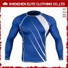 Fashion Design High Quality Blue White Long Sleeves Rash Guards (ELTRGI-27)