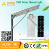 25W IP68 Waterproof Outdoor Integrated Solar LED Street Garden Light