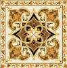 Flower Pattern Carpet Tile Polished Crystal Ceramic Floor Tile 1200X1200mm (BMP34)