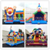 Inflatable Clown Theme Bouncer/Inflatable Clown Slide and Bouncer for Kids