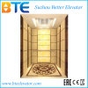 Ce Gearless Passenger Elevator with Luxary Cabin Decoration